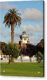 Point Fermin Light - San Pedro - Southern California Acrylic Print by Christine Till