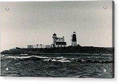 Point Judith Lighthouse Narragansett Rhode Island Acrylic Print