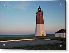 Point Judith Lighthouse Rhode Island Acrylic Print