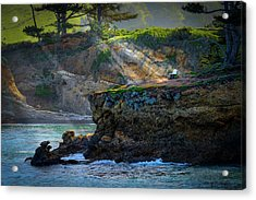 Point Lobos, Calif. A Missed Opportunity Acrylic Print