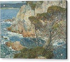 Point Lobos, Carmel Acrylic Print by Childe Hassam