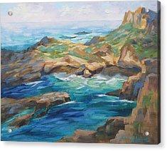 Point Lobos Cove Acrylic Print