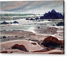 Point Lobos Acrylic Print by Donald Maier
