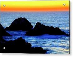 Point Lobos Sunset, California Acrylic Print