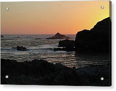 Point Lobos Sunset Acrylic Print by David Chandler