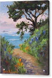 Point Lobos View Acrylic Print
