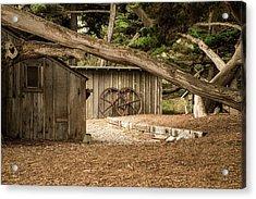 Point Lobos Whaler's Cabin Acrylic Print
