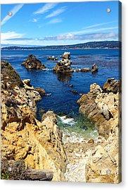 Point Lobos Whalers Cove- Seascape Art Acrylic Print