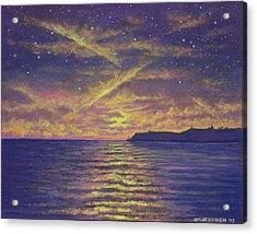 Point Loma Sunset 01 Acrylic Print
