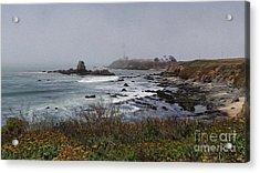 Acrylic Print featuring the photograph Point Montara Lighthouse by David Bearden