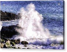 Point Mugu Explosion Acrylic Print by William Havle