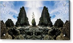 Point Of The Arches Reflection Acrylic Print by Pelo Blanco Photo