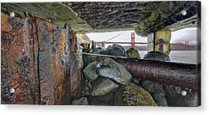 Acrylic Print featuring the photograph Point Of View by Steve Siri