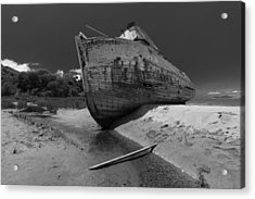 Point Reyes Boat Acrylic Print