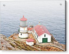 Point Reyes Lighthouse At Point Reyes National Seashore Ca Acrylic Print by Christine Till