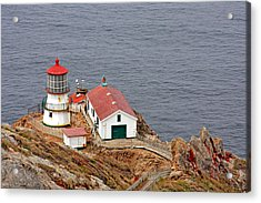 Point Reyes Lighthouse Ca Acrylic Print by Christine Till