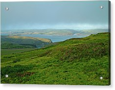 Point Reyes Overlooking Tomales Bay Acrylic Print