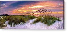 Point Sunrise Acrylic Print