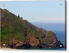 Point Sur Lighthouse Ca  Acrylic Print by Christine Till