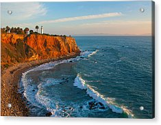 Point Vicente Lighthouse Palos Verdes California Acrylic Print by Ram Vasudev