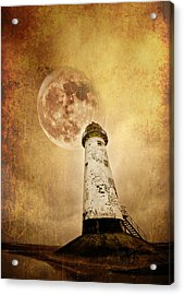 Pointing The Way Acrylic Print by Meirion Matthias