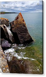 Pointing To The Sky Acrylic Print by Sandra Updyke