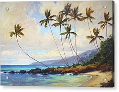 Poipu Beach  Acrylic Print by Jenifer Prince