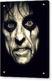 Poison Alice Cooper Acrylic Print
