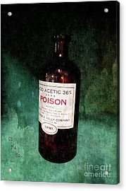 Poison  Acrylic Print by Steven Digman