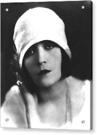 Pola Negri, Ca. Mid-1920s Acrylic Print by Everett