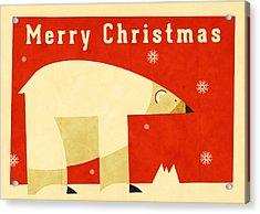 Polar Bear 1 Acrylic Print by Daviz Industries