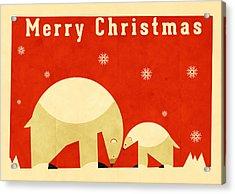 Polar Bear 5 Acrylic Print by Daviz Industries