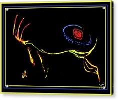 Polarglyph Two Acrylic Print by JOnezi