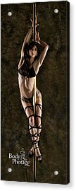 Pole Dancer Acrylic Print