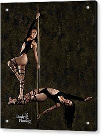 Pole Ninjas Acrylic Print