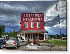 Polebridge Mercantile Acrylic Print