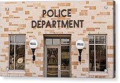 Police Station Building Acrylic Print