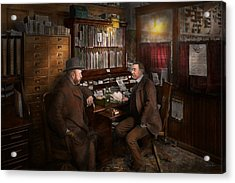 Police - The Private Eye - 1902  Acrylic Print