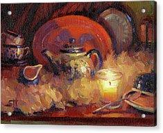 Polish Pottery  Acrylic Print