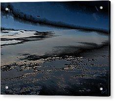 Polished Sky Acrylic Print