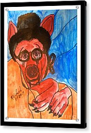 Politidogs Copyright Grandmother Radical Islam What Great Teeth And Claws You Have Acrylic Print