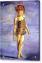 Polka Dot Acrylic Print by Susan Gauthier