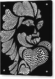 Polkadot Lover Acrylic Print by Hye Ja Billie
