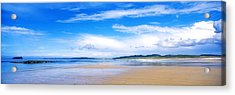 Pollan Strand, Inishowen, County Acrylic Print by The Irish Image Collection