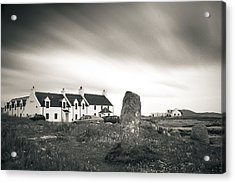 Pollochar Inn And Standing Stone Acrylic Print