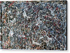 Pollock's Ghosts Acrylic Print by Biagio Civale