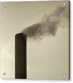 Pollution Acrylic Print