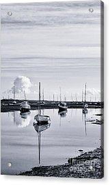 Pollywiggle Brancaster Staithe Norfolk Uk Acrylic Print by John Edwards