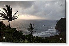 Pololu Valley, Hawaii Acrylic Print by Lucas Boyd