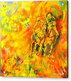 Poloplayer Acrylic Print